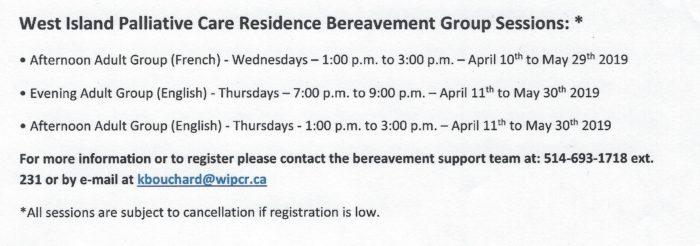 Schedule - WIPCR Spring 2019